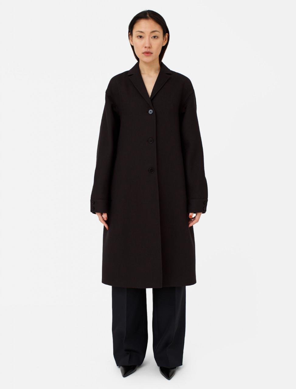 Jil Sander Doubleface Cotton Coat