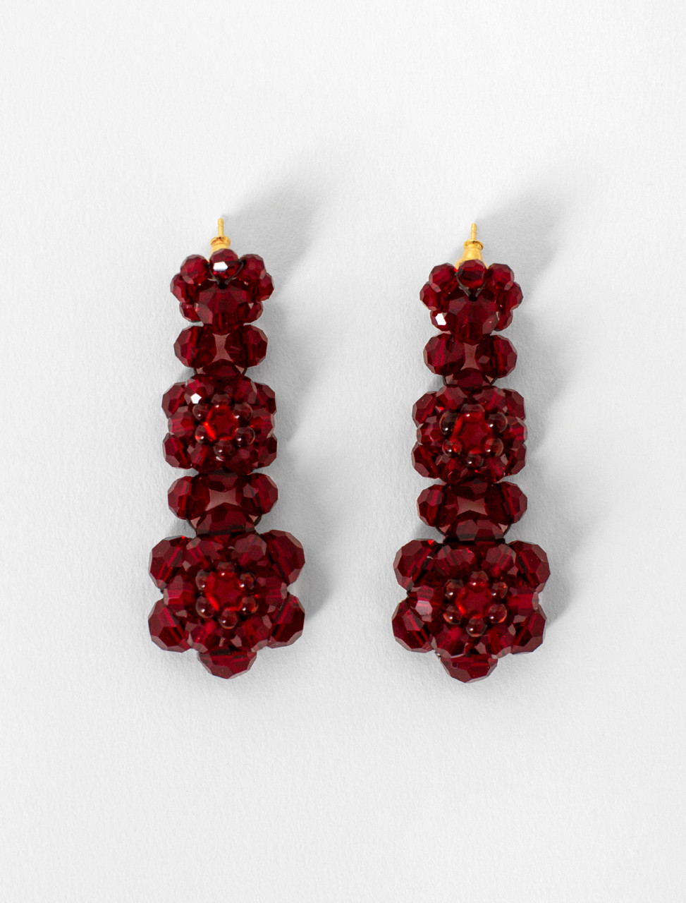 Three Tier Earrings