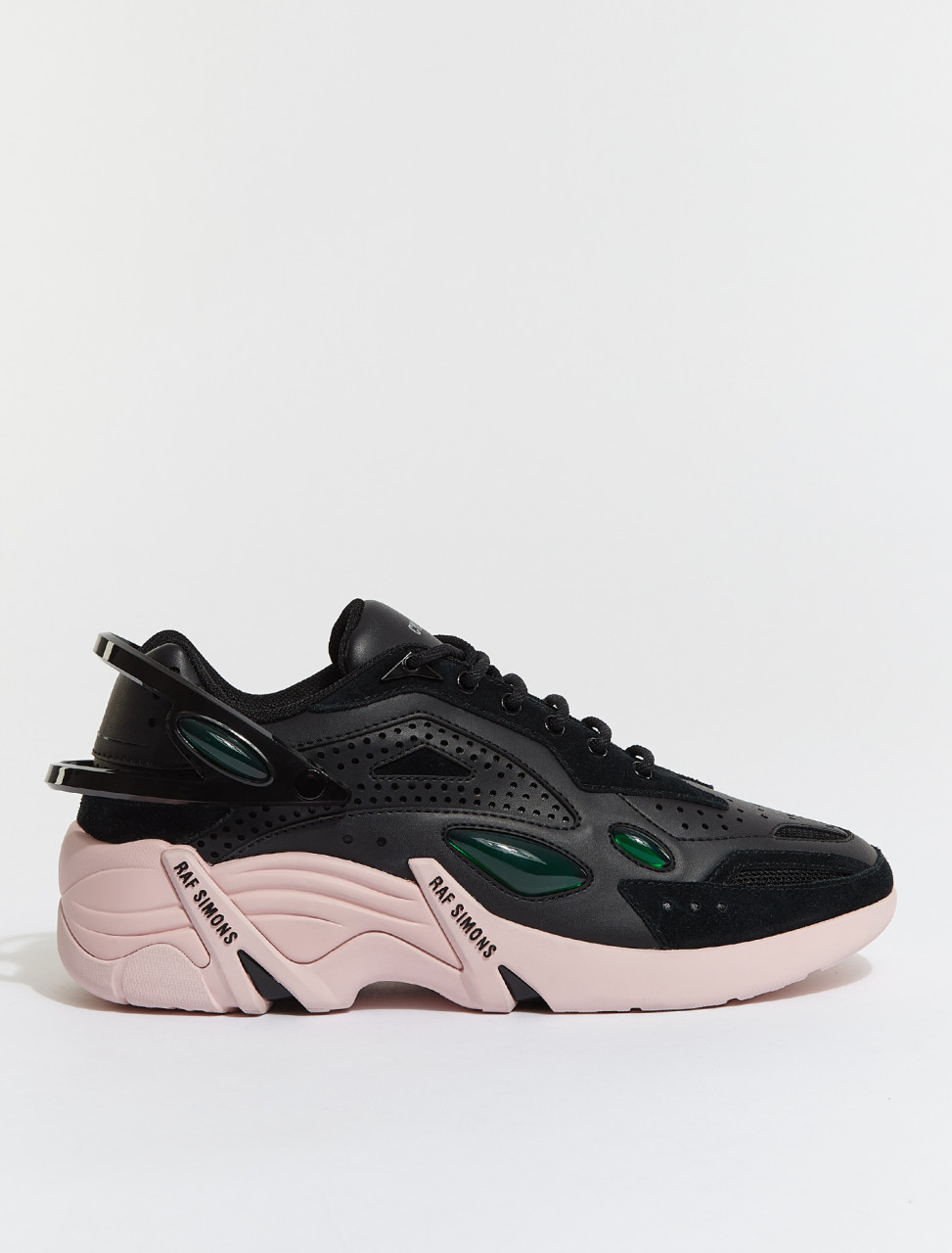 HR740003L-0131 RAF SIMONS RUNNER CYLON 21 BLACK PINK