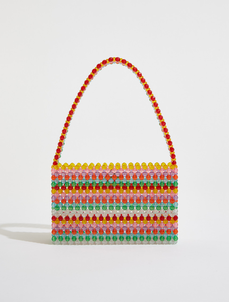 310-BAG-0078 SUSAN ALEXANDRA SOUR STRAW HANDBAG MULTI