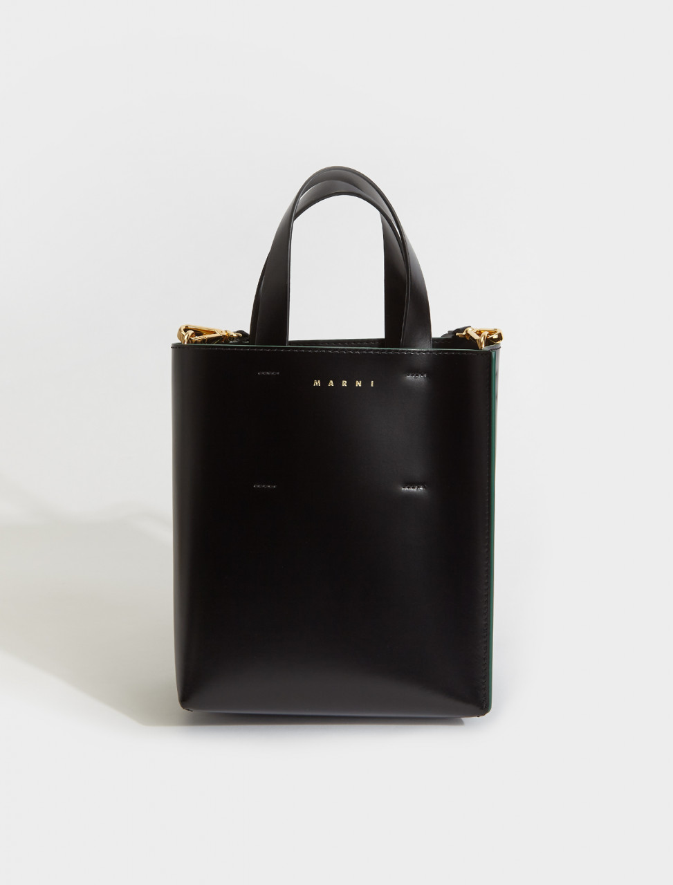 SHMP0039Y0-Z1N99 MARNI SHOPPING BAG BLACK