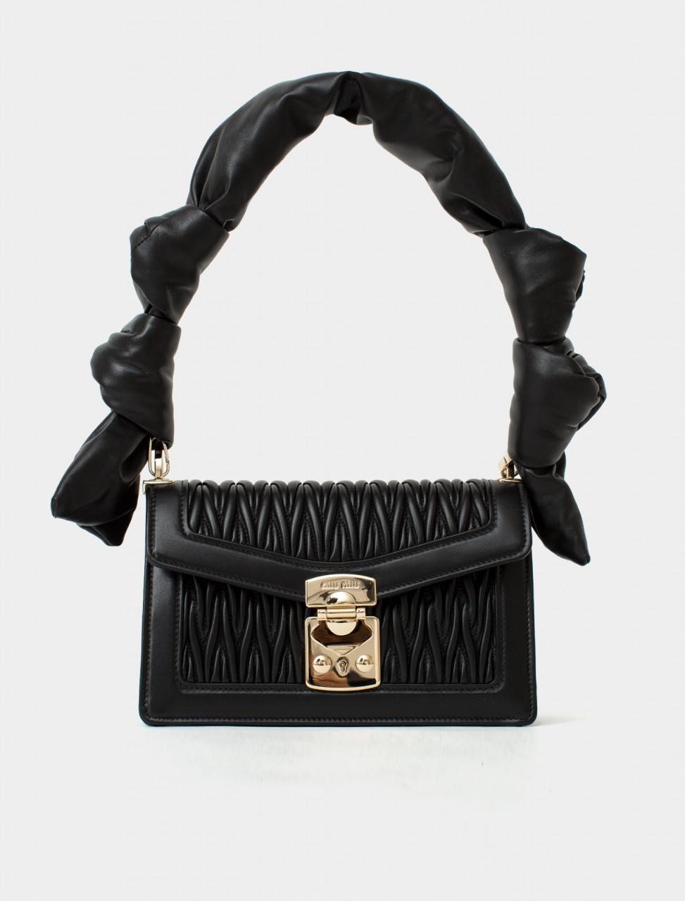 Confidential Matelassé Leather Shoulderbag