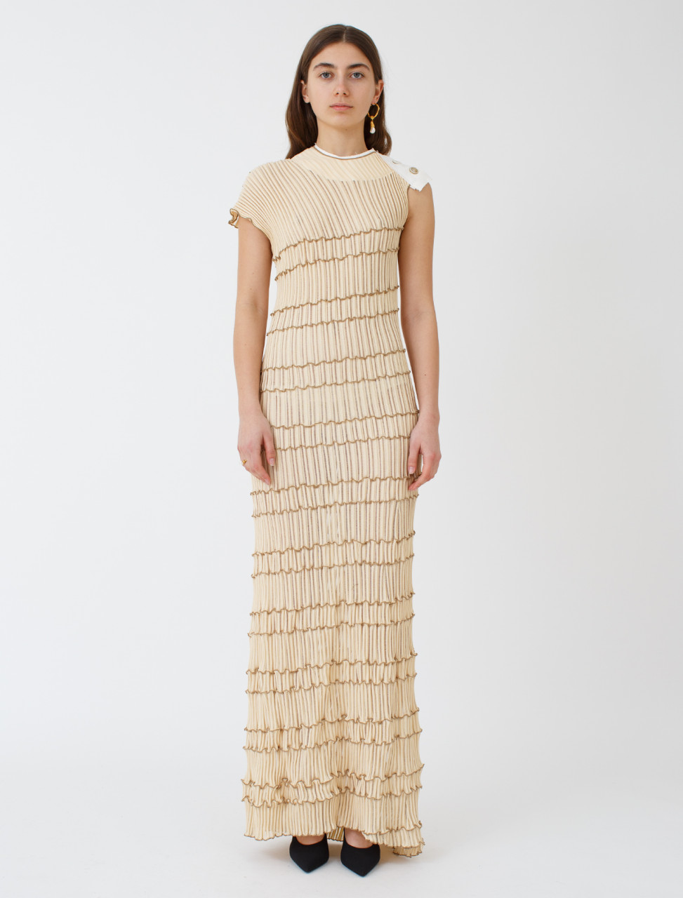 Knitted Viscose Dress