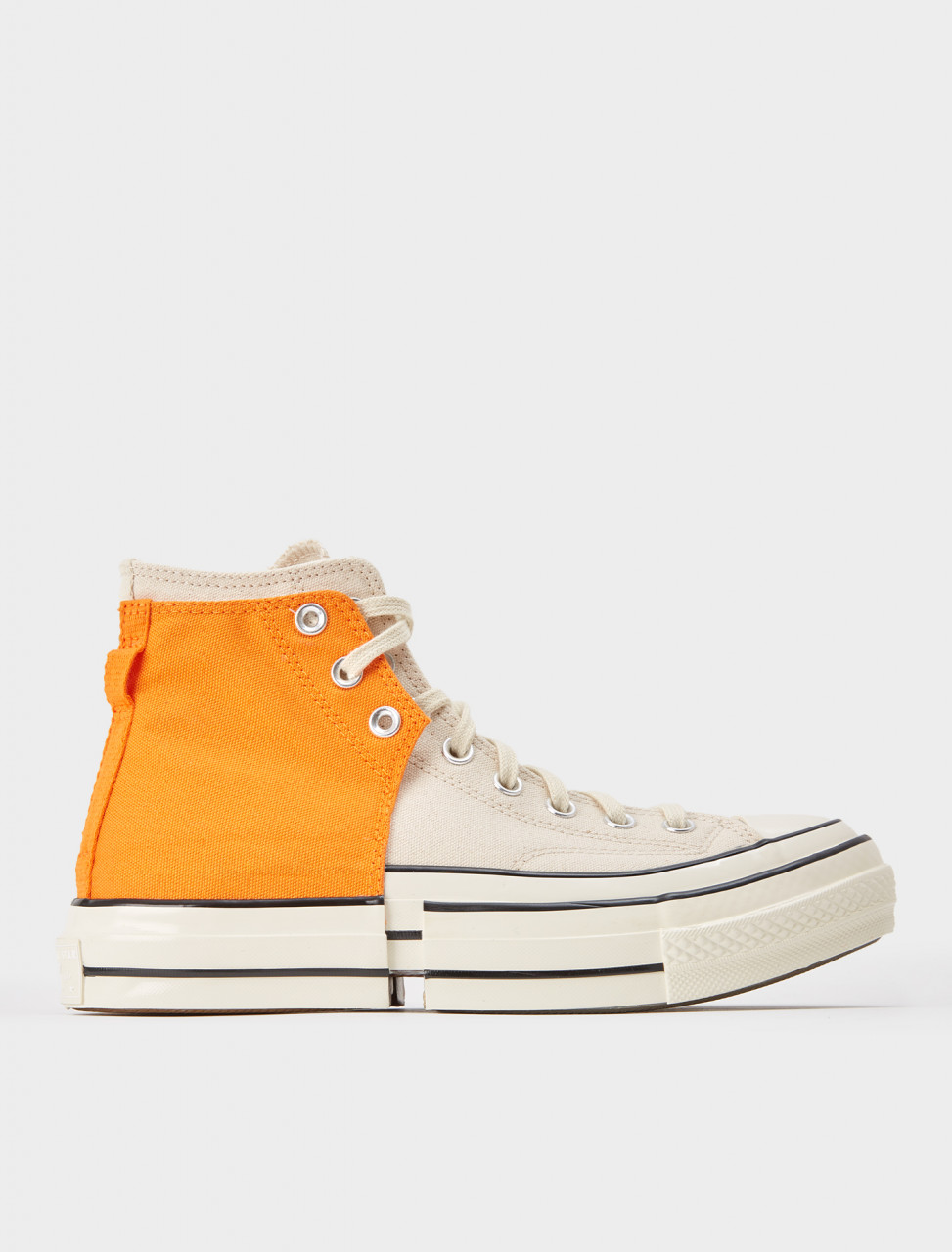 221-169840C-800 CONVERSE CHUCK 70 2 IN 1 HI PERSIMMON ORANGE NATURAL IVORY
