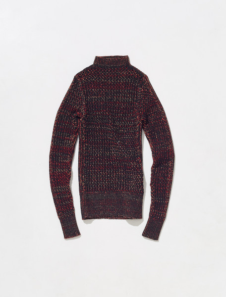 PFSW1 ISA BOULDER BACK TO FRONT SWEATER  IN TECHNO