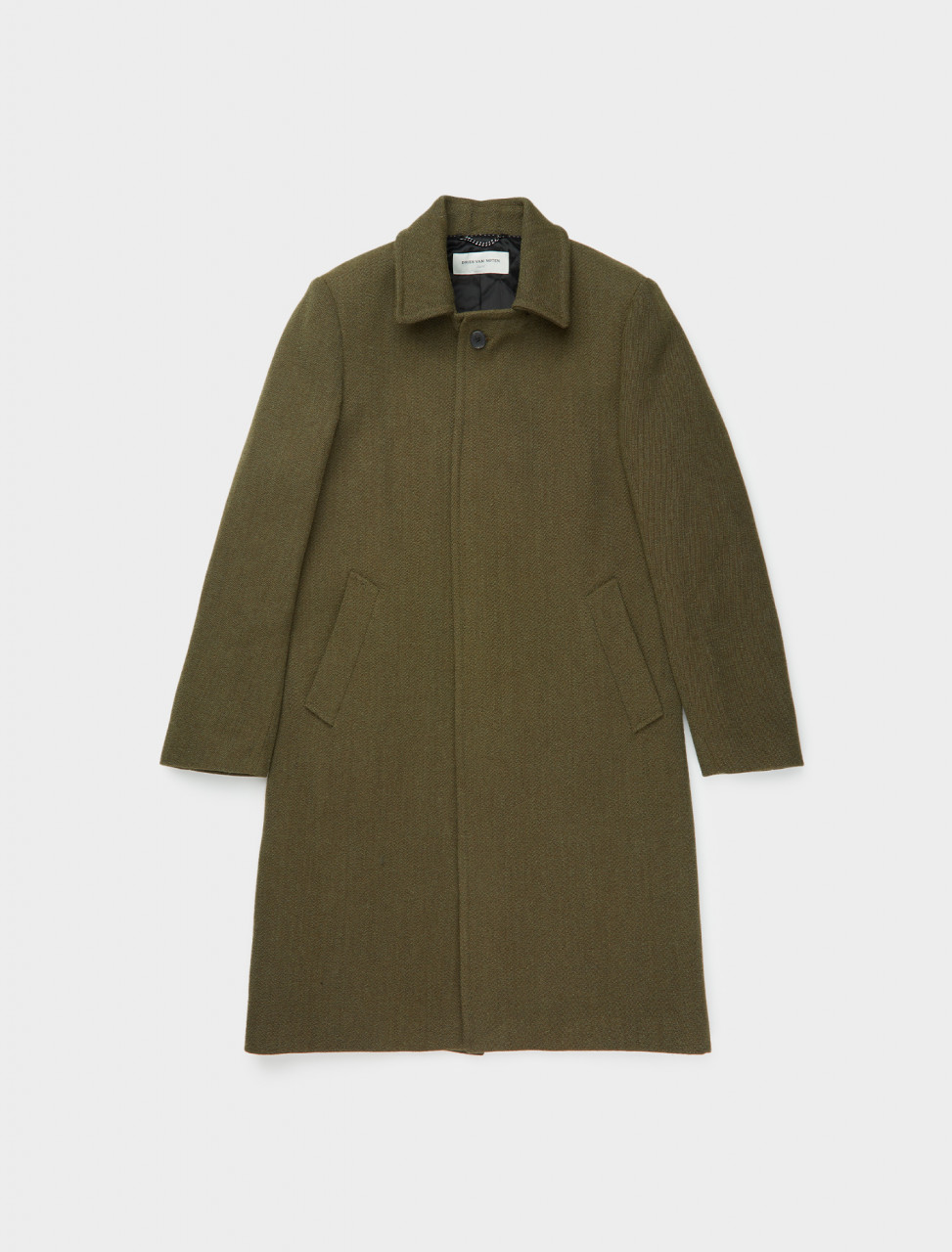 260-202-20225-1190-606 DRIES VAN NOTEN ROBURN COAT KHAKI