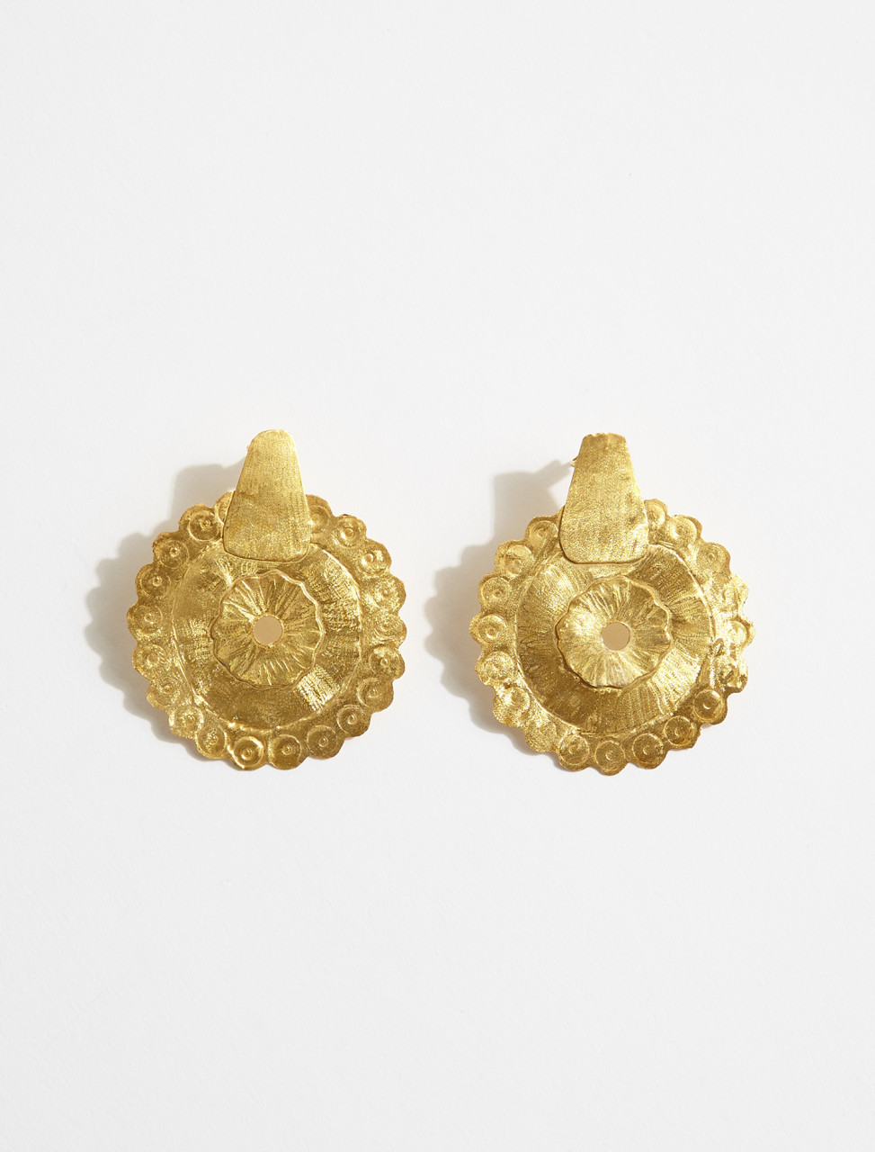 1000737 APRES SKI DISCO EARRINGS IN GOLD