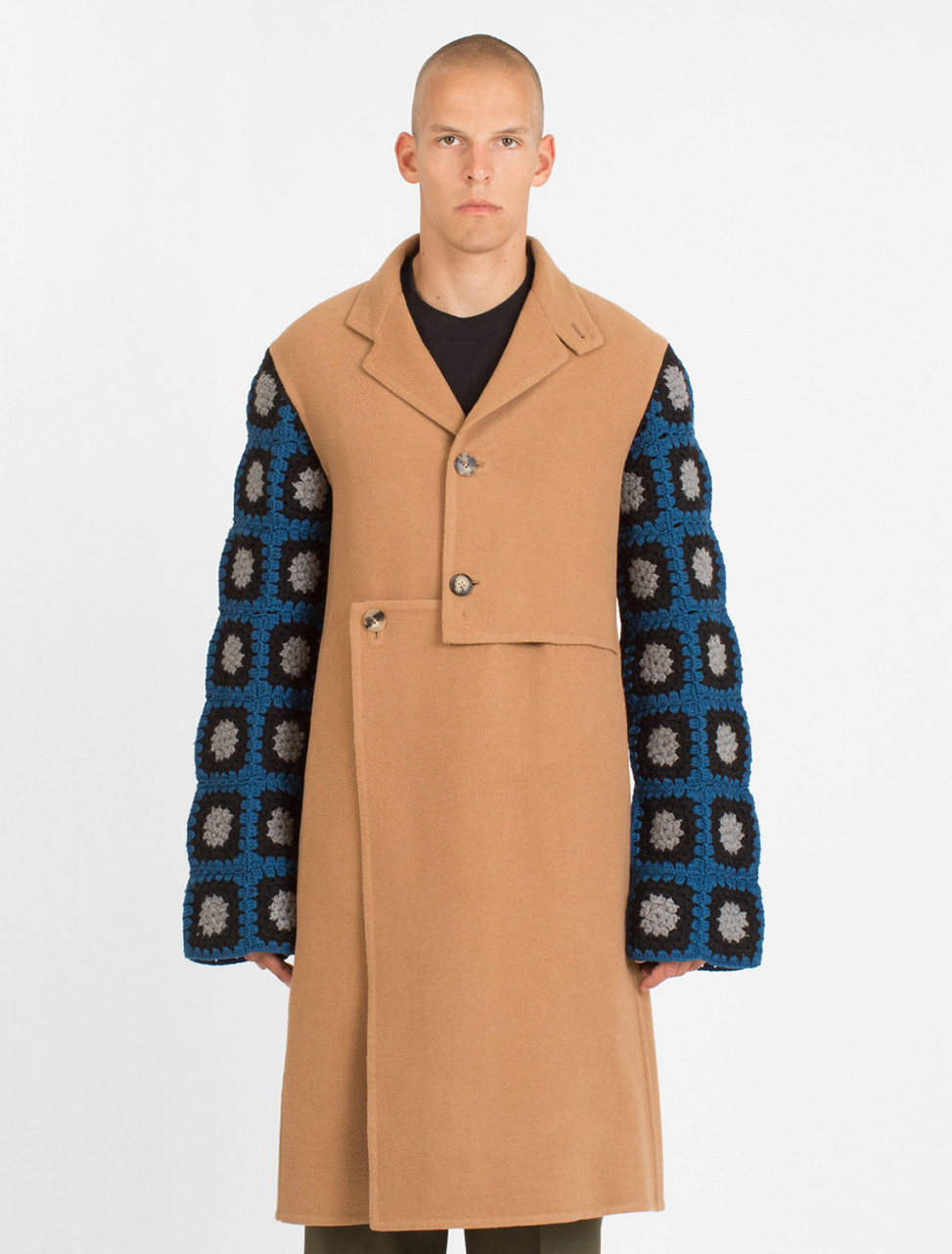 Cut Out Coat