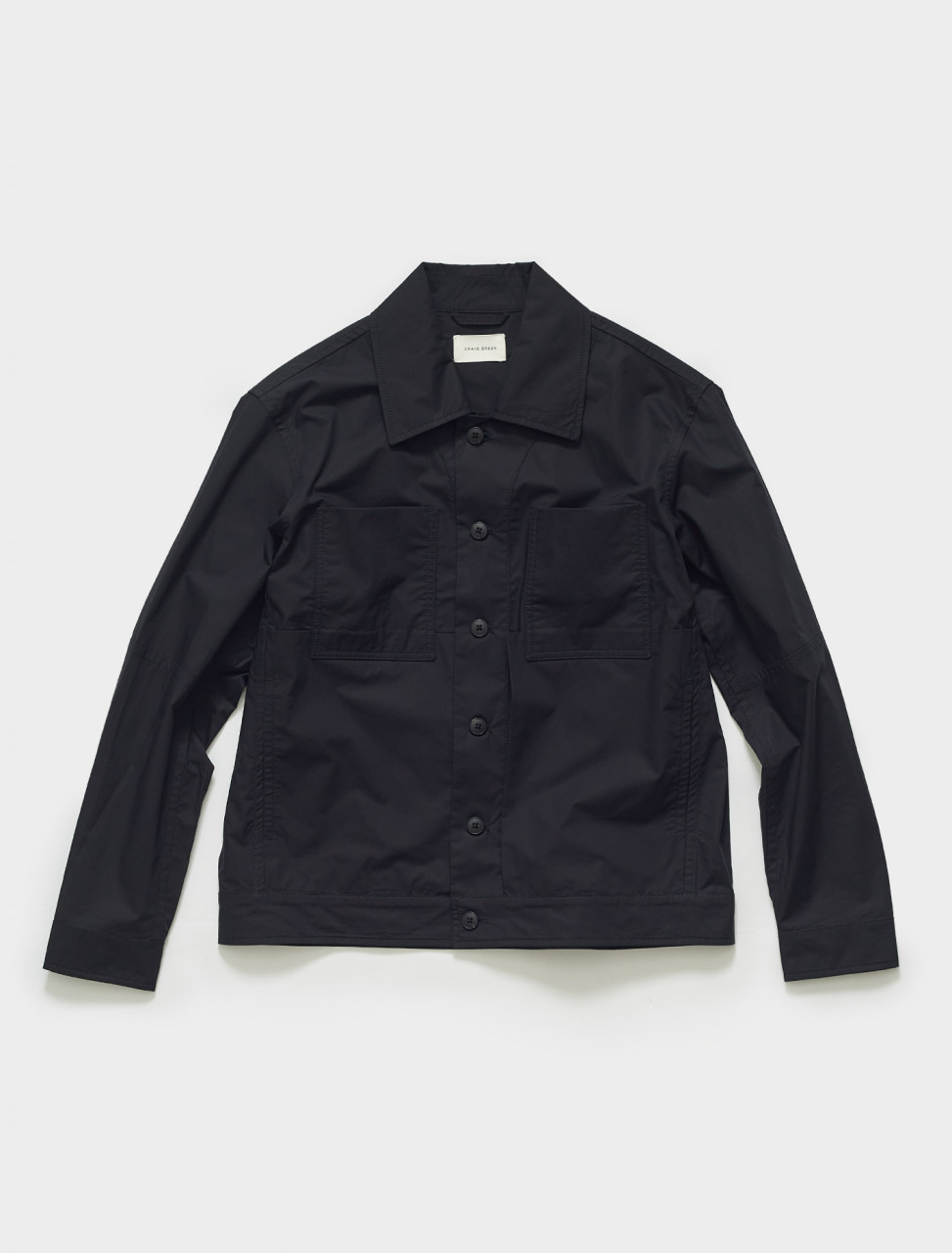 CGSS21CWOJKT13 CRAIG GREEN WORKER JACKET IN BLACK