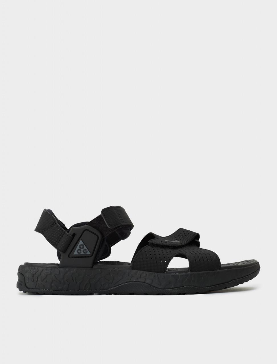 Nike ACG Deschutz Sandal in Off Noir & Iron Grey