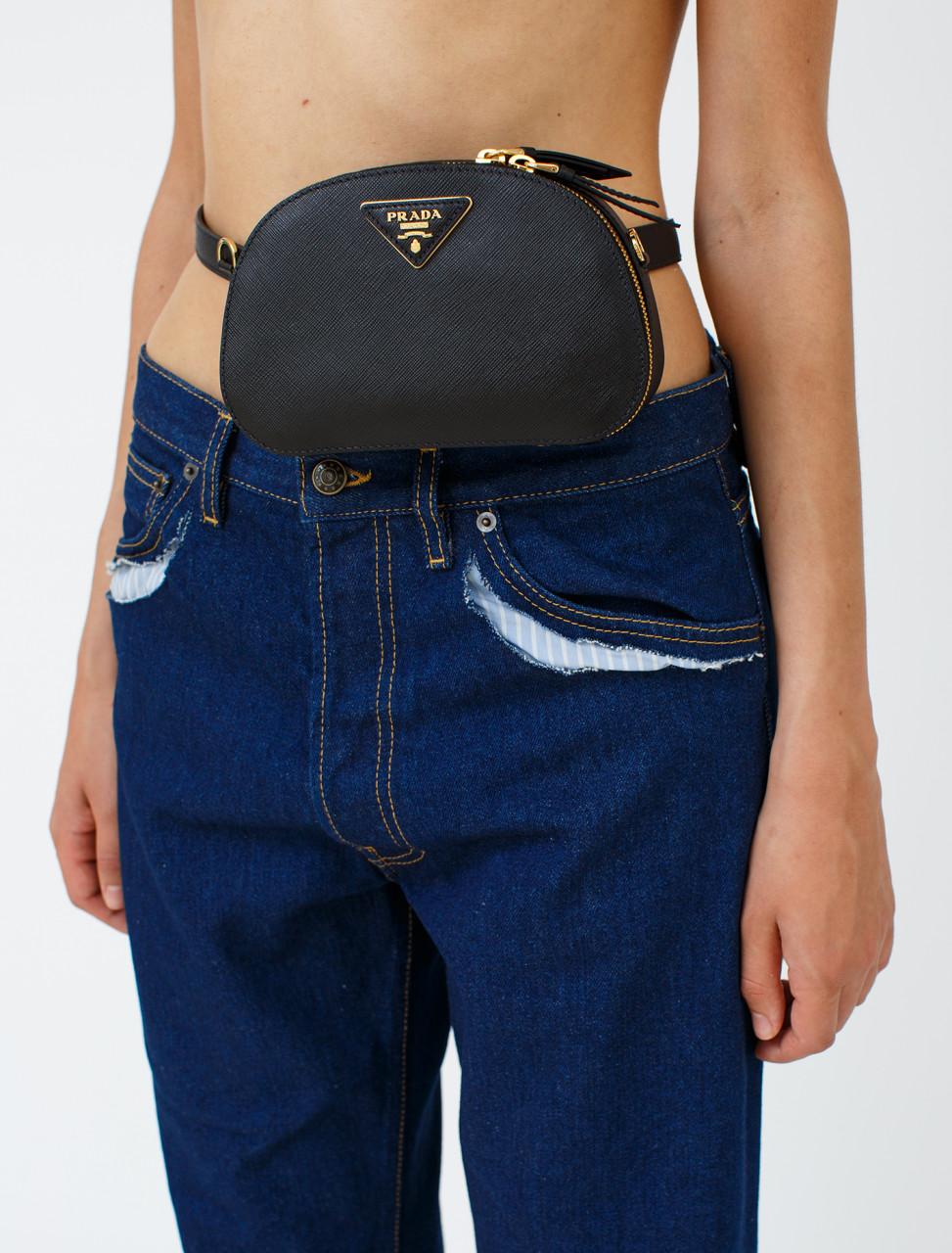 Odette Saffiano Belt Bag