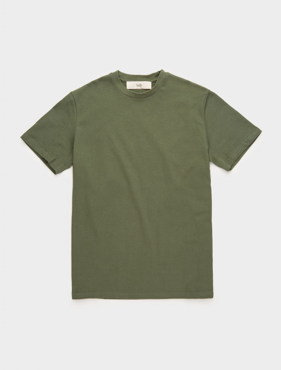 271-CT-WG SÉFR CLIN TEE IN WILLOW GREEN