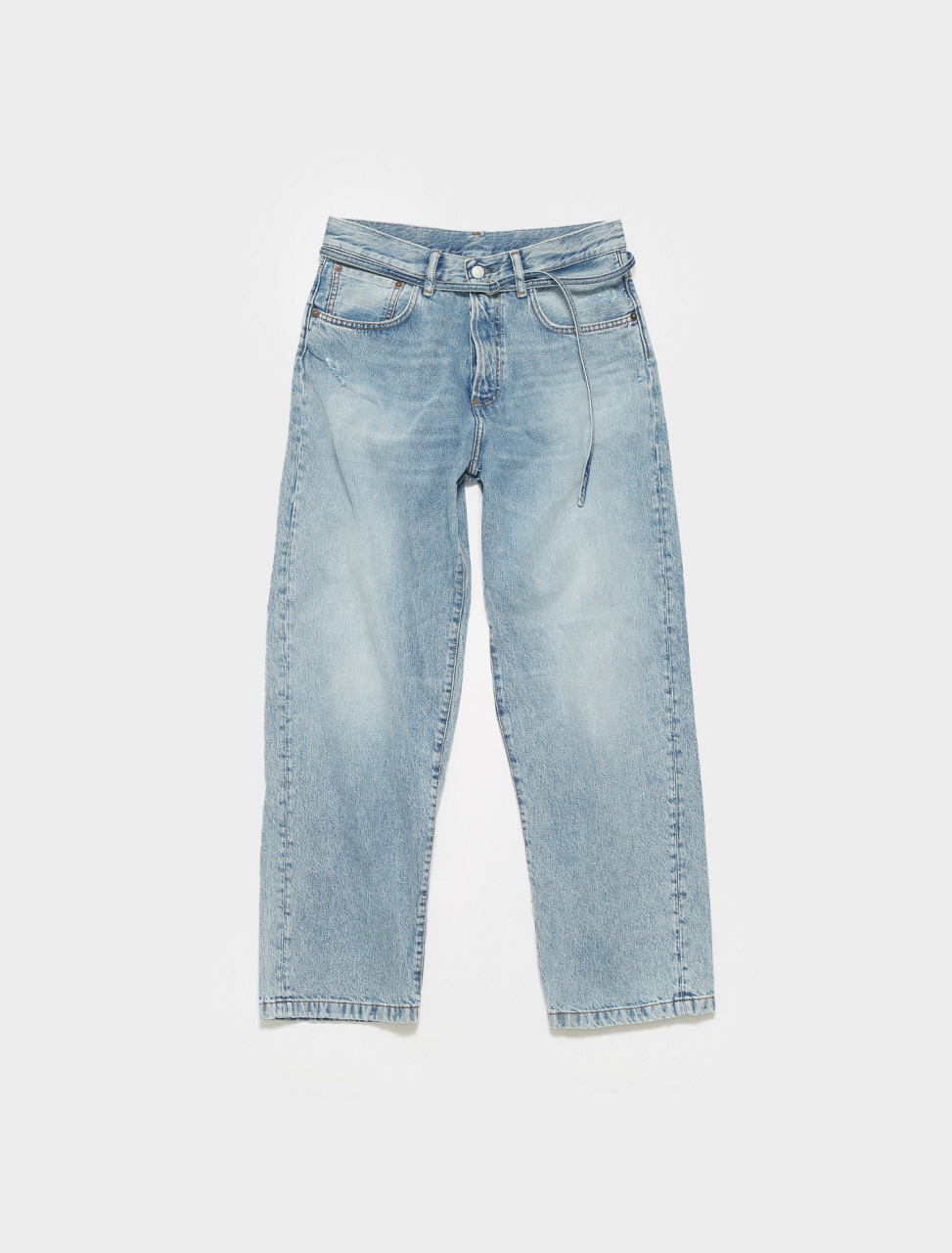 C00025-228 ACNE STUDIOS 1991 TOJ LIGHT BLUE TRASH JEANS IN LIGHT BLUE