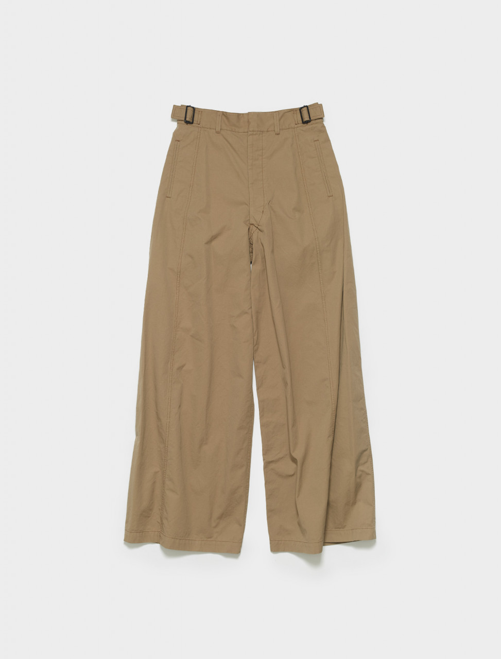 X-211-PA163-LF575-291 LEMAIRE OVERSIZED MILITARY PANT IN DARK BEIGE