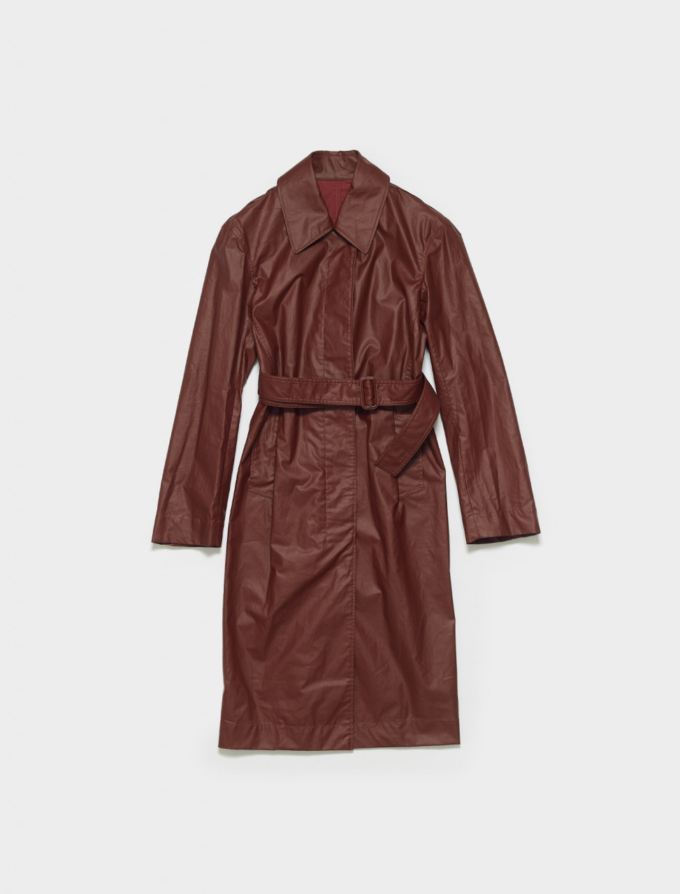 W-211-CO264-LF095-360 LEMAIRE FITTED TRENCH IN RED