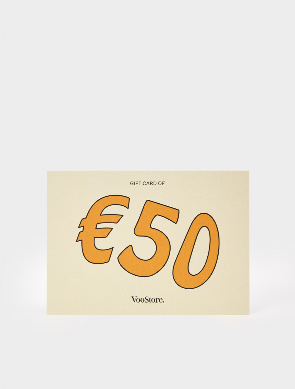 VV50-P VOO STORE GIFT CARD 50
