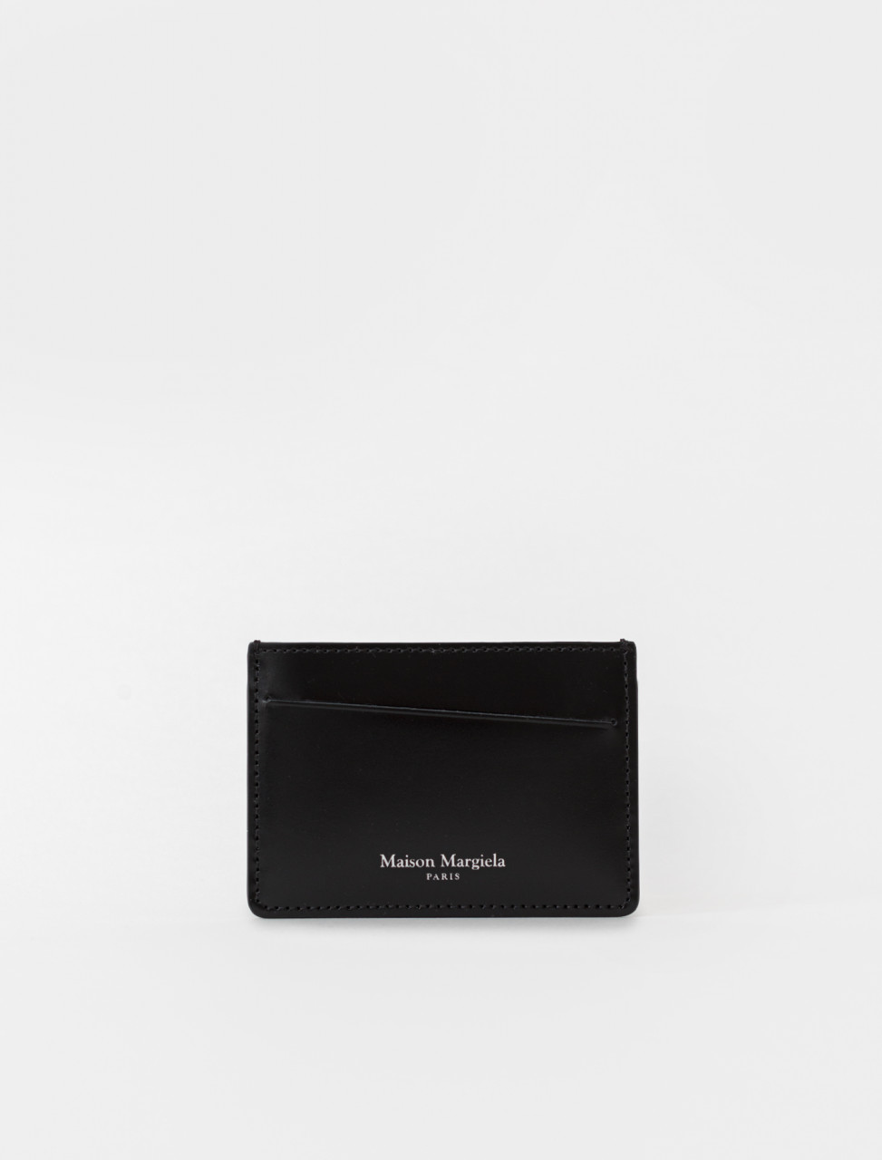 Leather Card Case in Black
