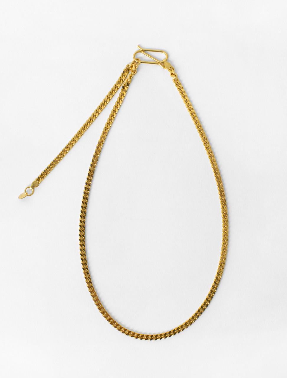 Chain Choker in Gold