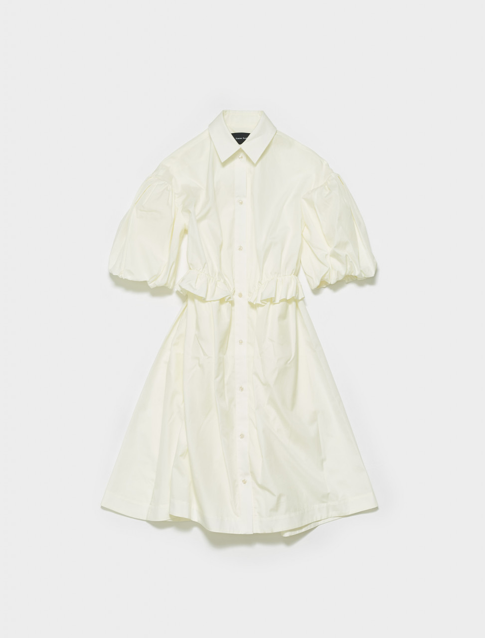 7060-0109 SIMONE ROCHA TWISTED HIP SHIRT DRESS