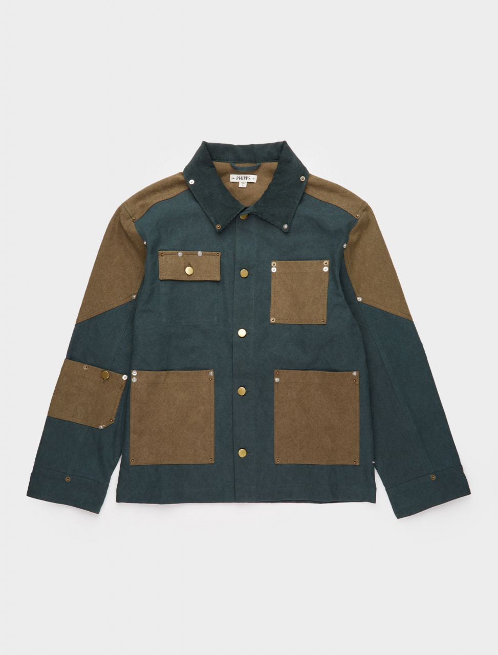 261-PHFW20-J13 PHIPPS WORKWEAR JACKET DARK PINE