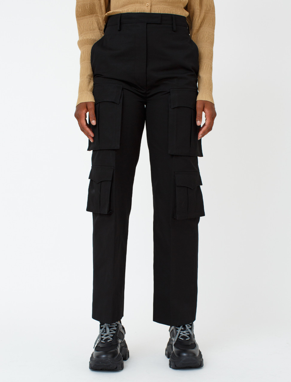 Cotton Poplin Trouser