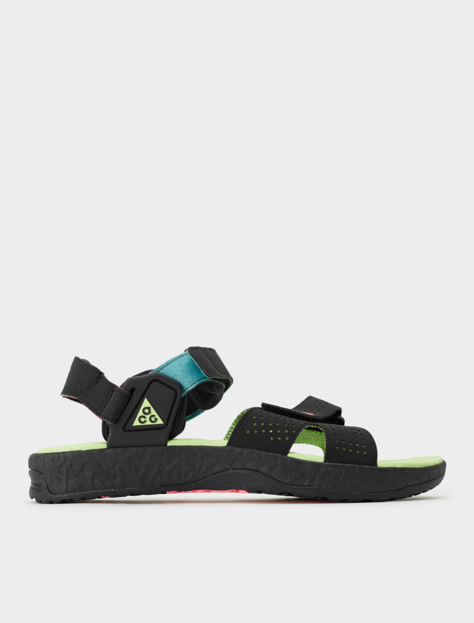 Nike ACG Deschutz Sandal in Digital Pink & Ghost Green Side
