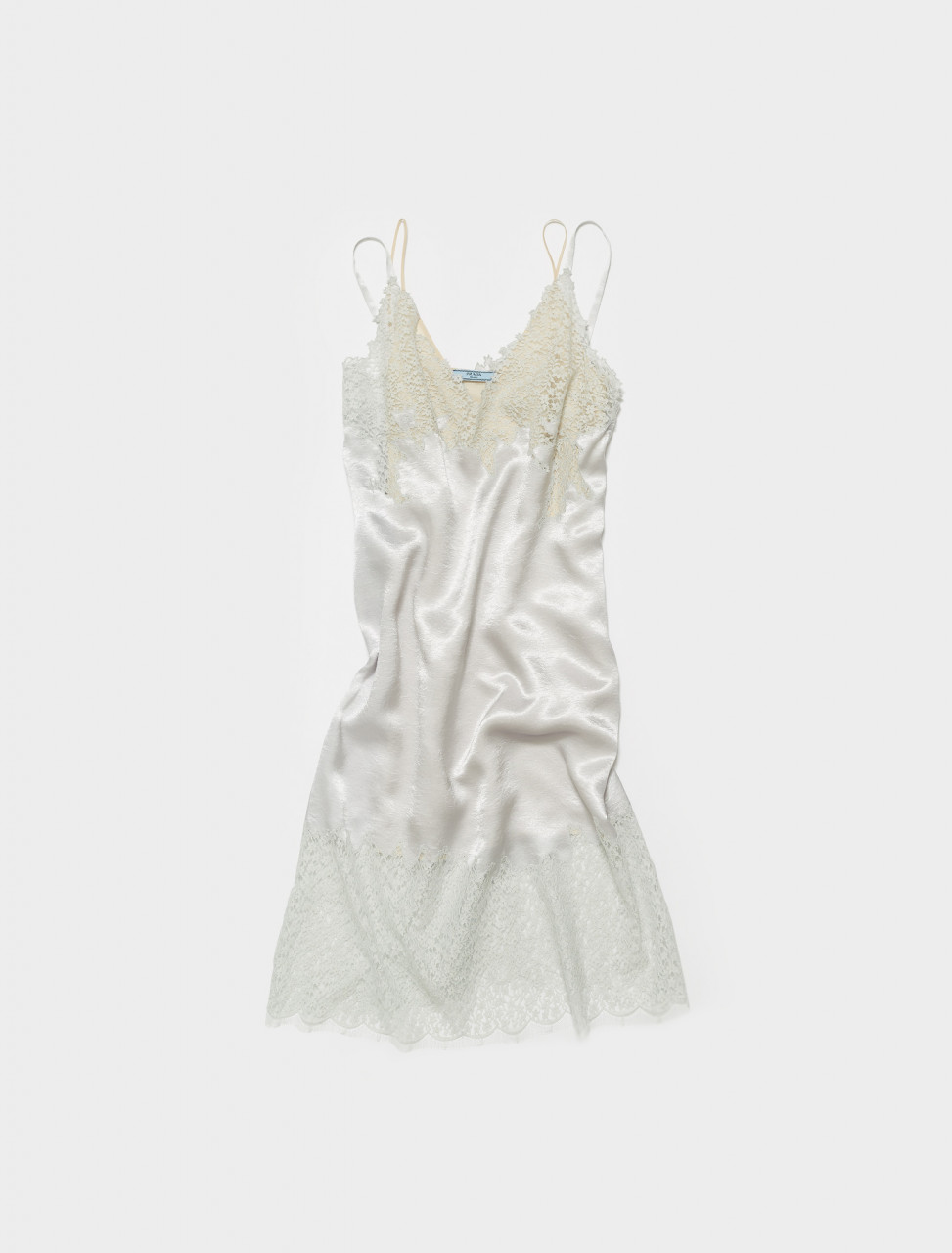 P3D43-S211-F0Q6U PRADA FADED SATIN DRESS