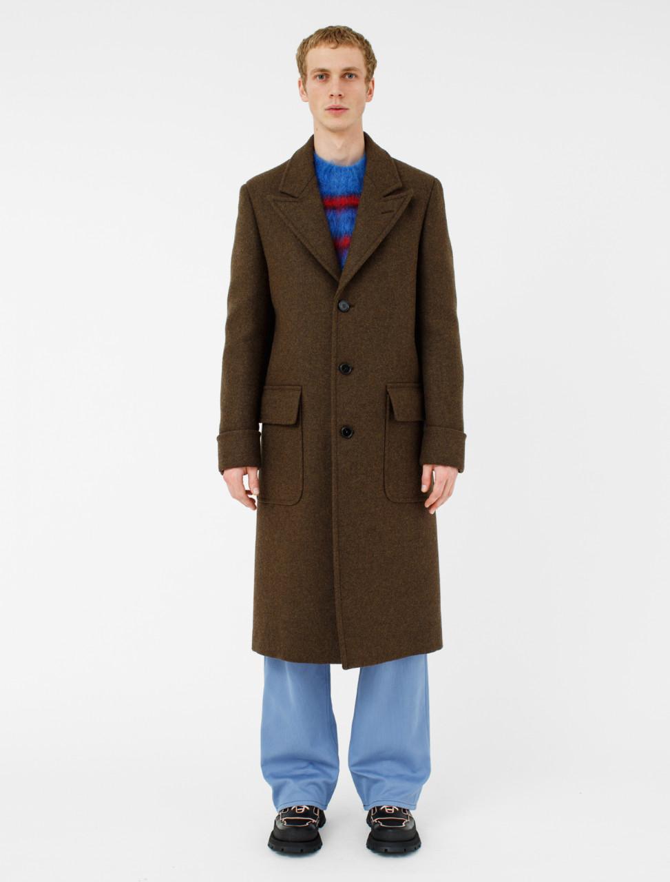Coat in Brown