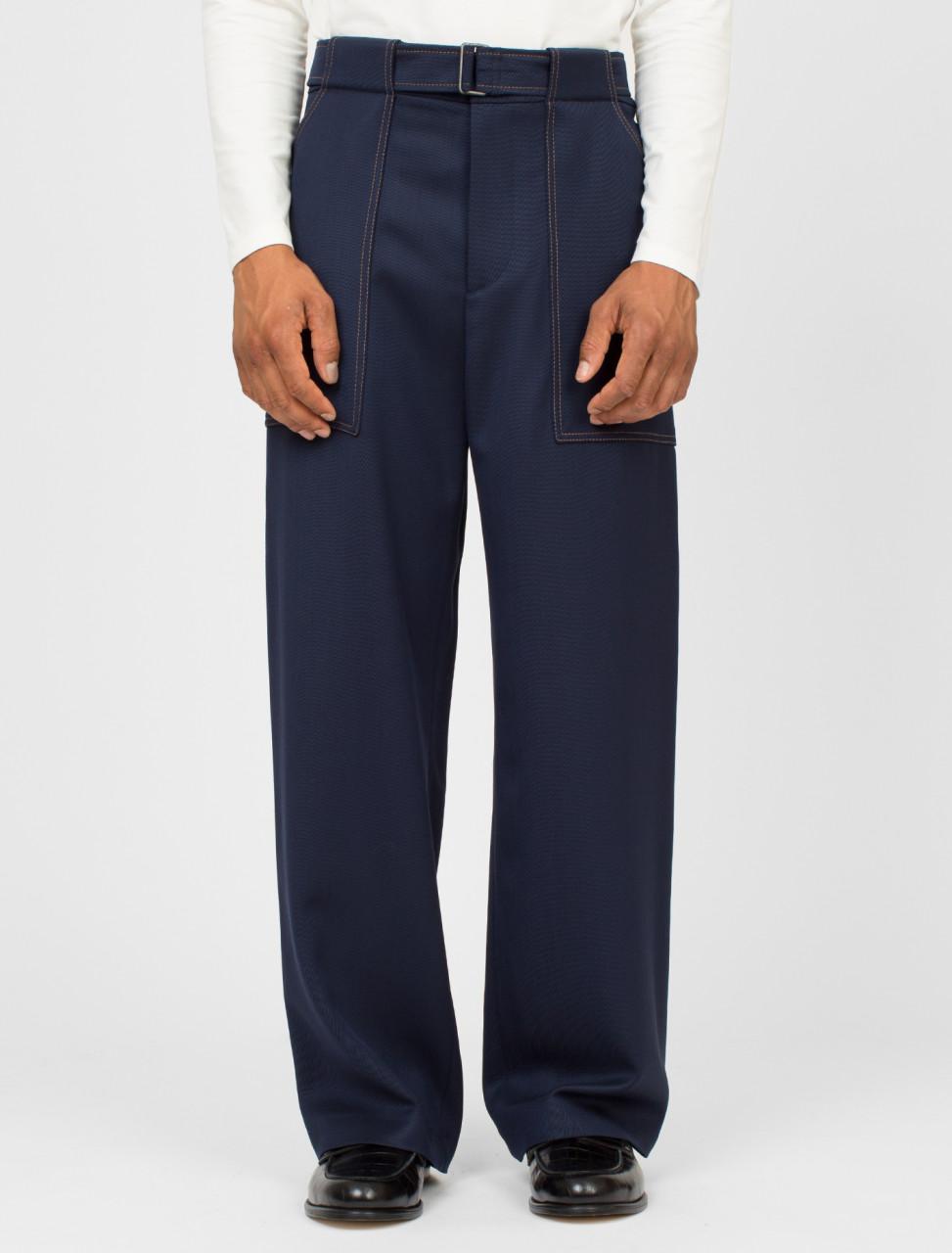 Kurt Belted Workwear Trouser