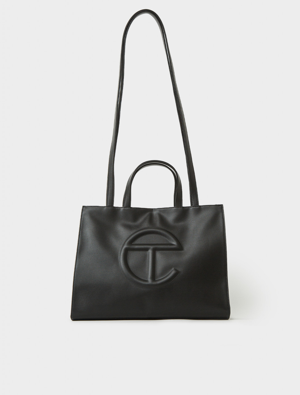 Medium Shopper in Black
