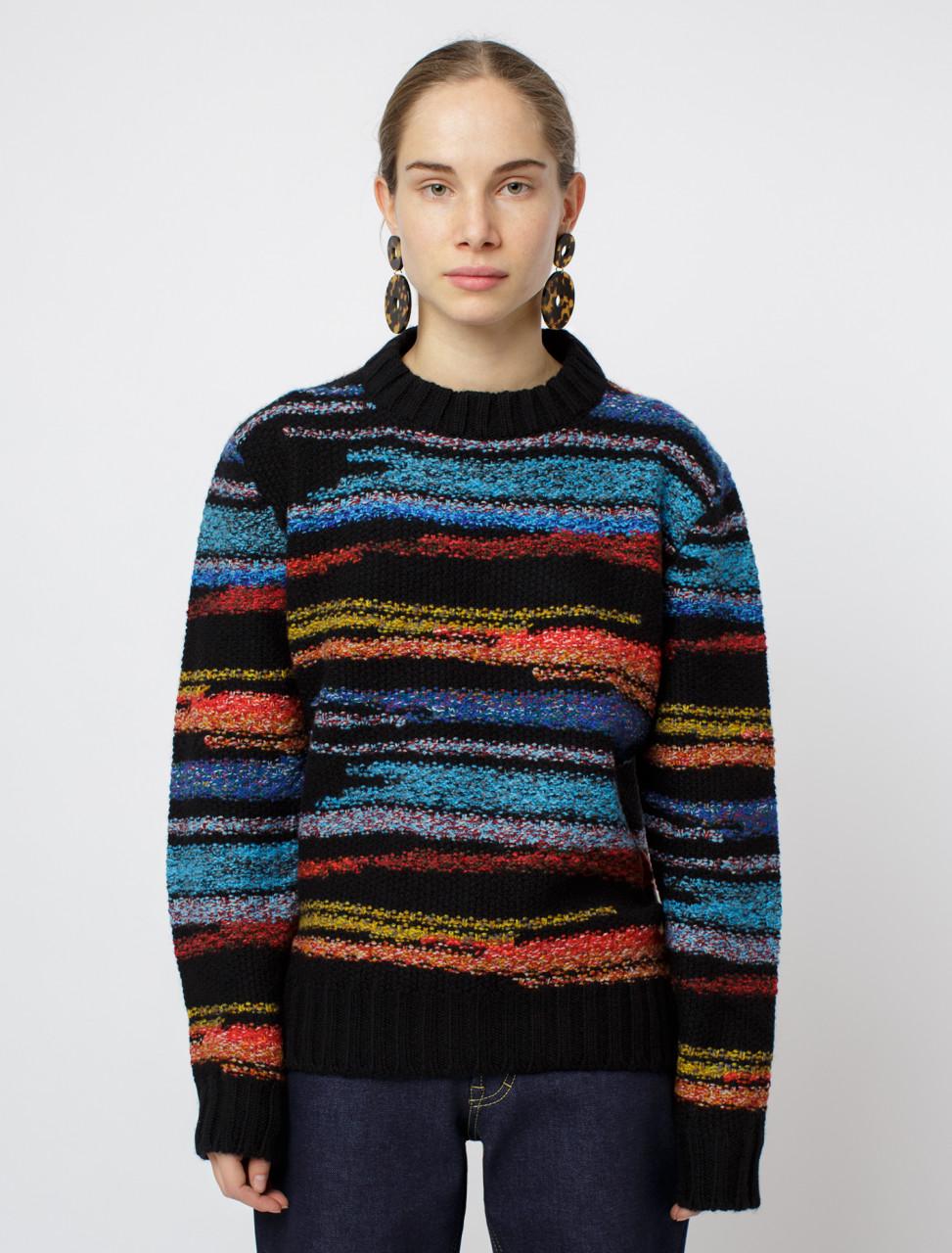 Long Sleeve Crew Neck Knit