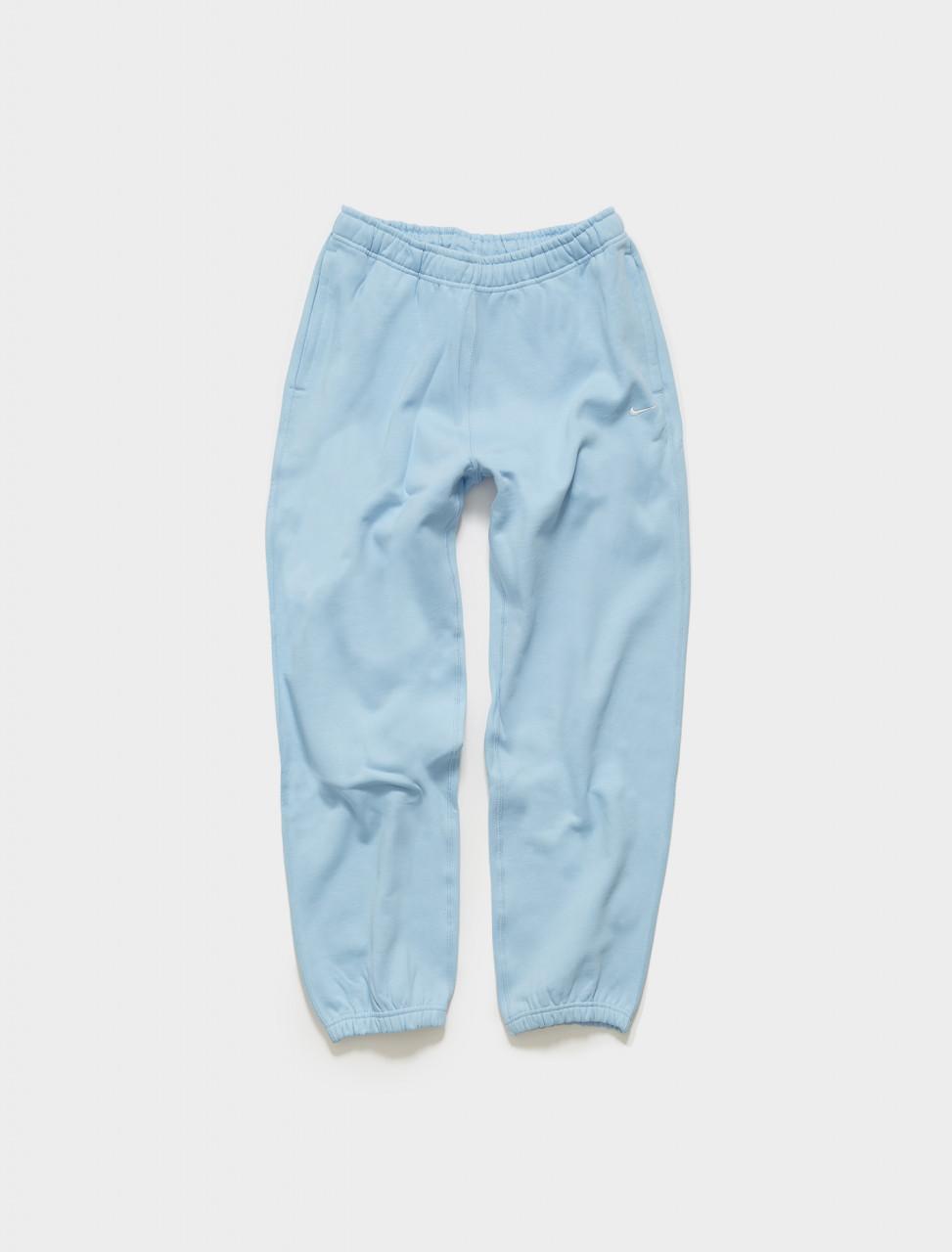 CW5565-436 NIKE WMNS NRG SOLO SWOOSH FLEECE PANTS IN PSYCHIC BLUE