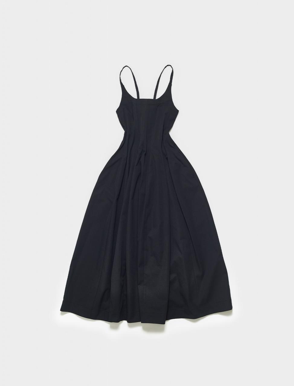 JSPS710060-WS457408-001 JIL SANDER SLEEVELESS DRESS BLACK