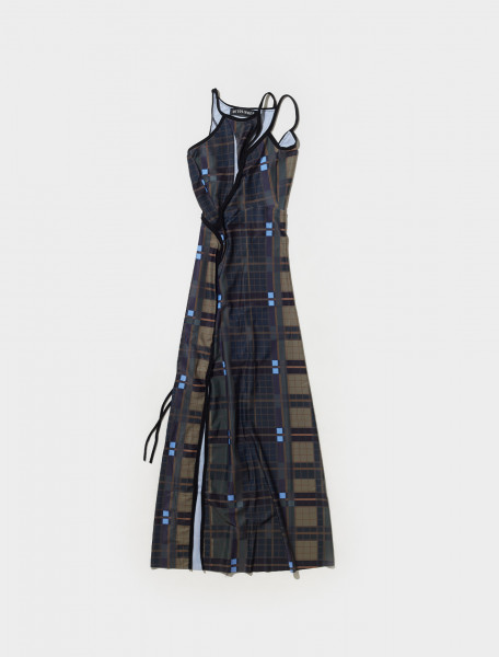 500202_PLAID OTTOLINGER STRAPPY DRESS IN PLAID