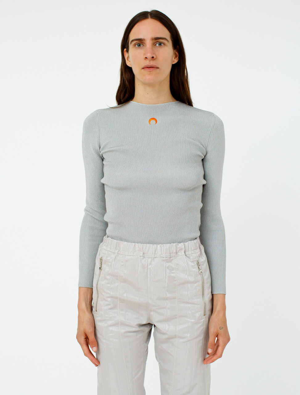 Open-Backed Sweater