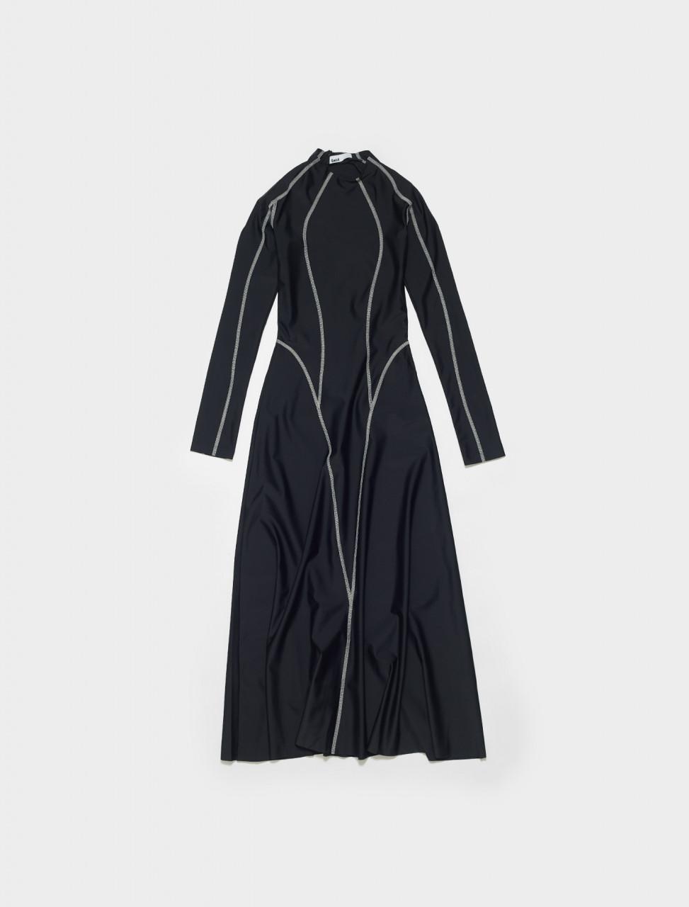 ELIF_W-BLACK GMBH ELIF DRESS BLACK