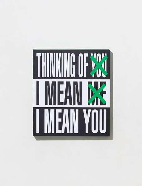 9781942884774 BARBARA KRUGER THINKING OF YOU. I MEAN ME. I MEAN YOU