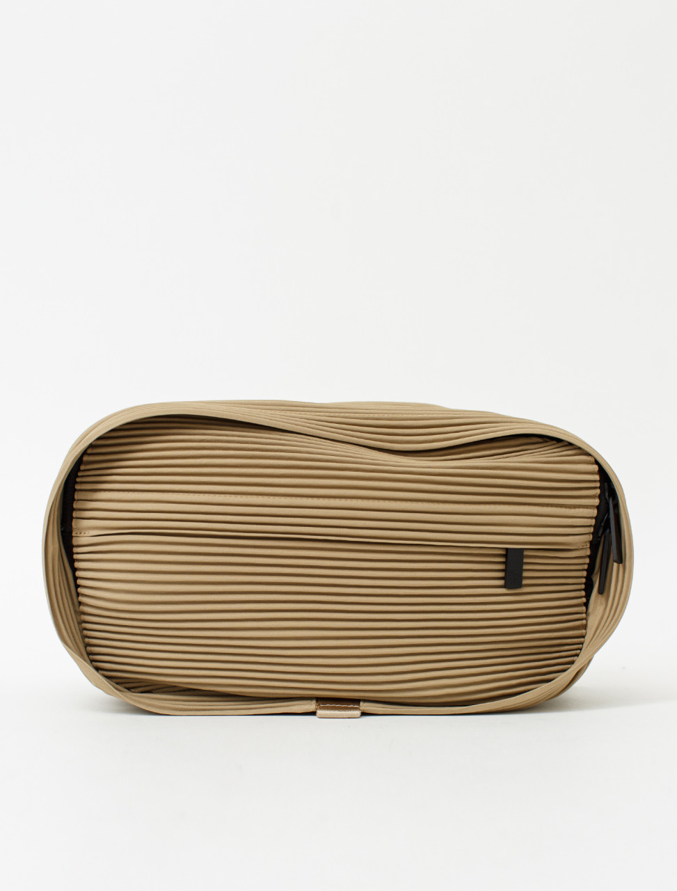 Pleated Waist Bag