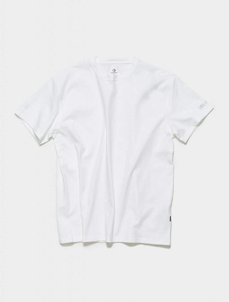 10021732-A01 CONVERSE X KIM JONES T SHIRT IN WHITE