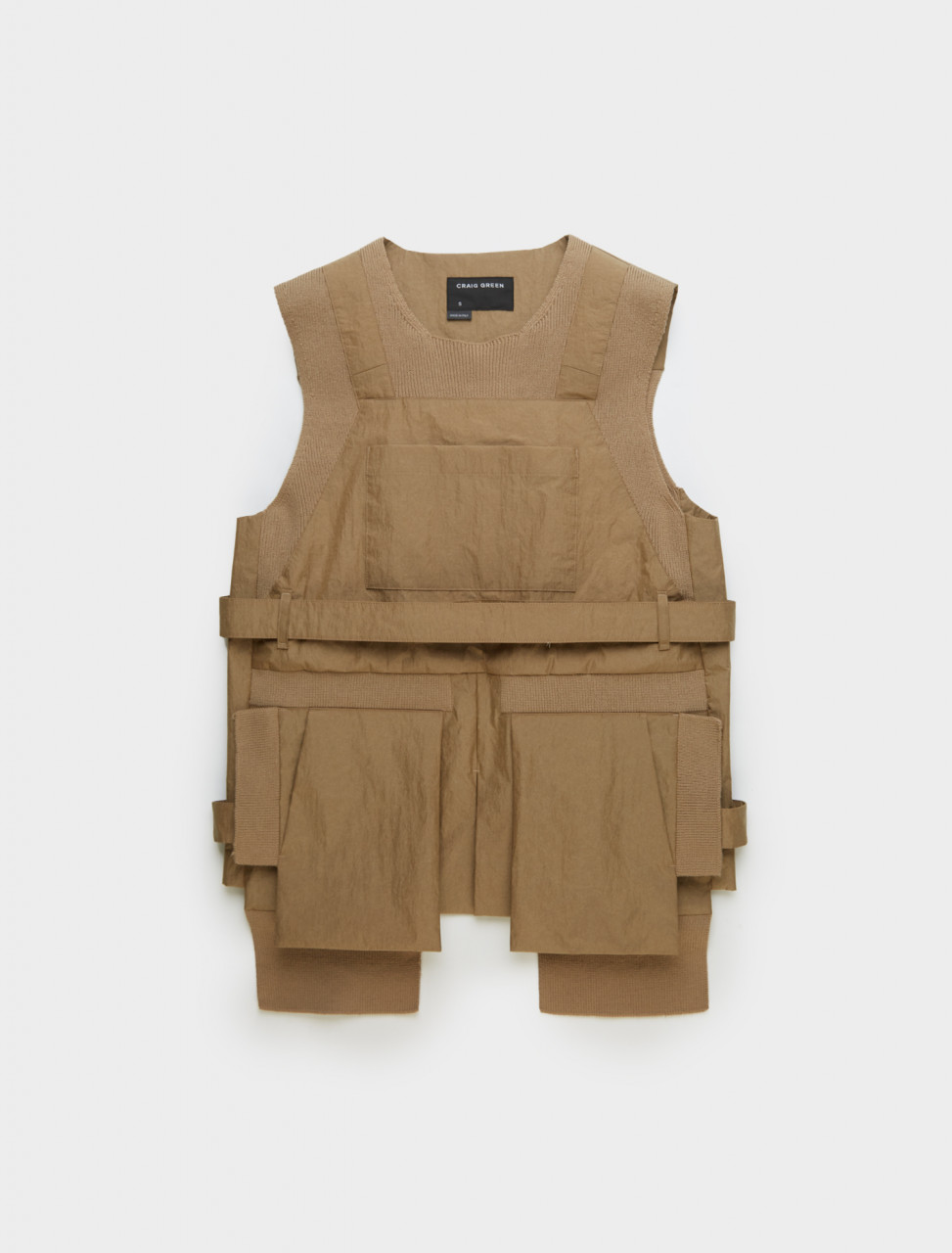 Craig Green Rib Utility Vest