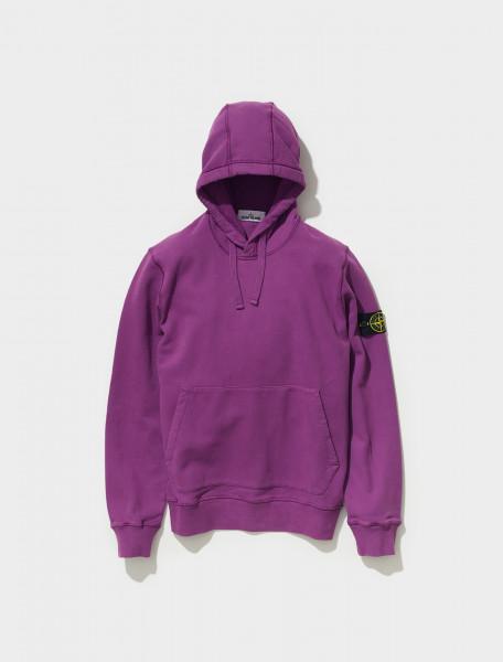 Hooded Sweatshirt in Purple