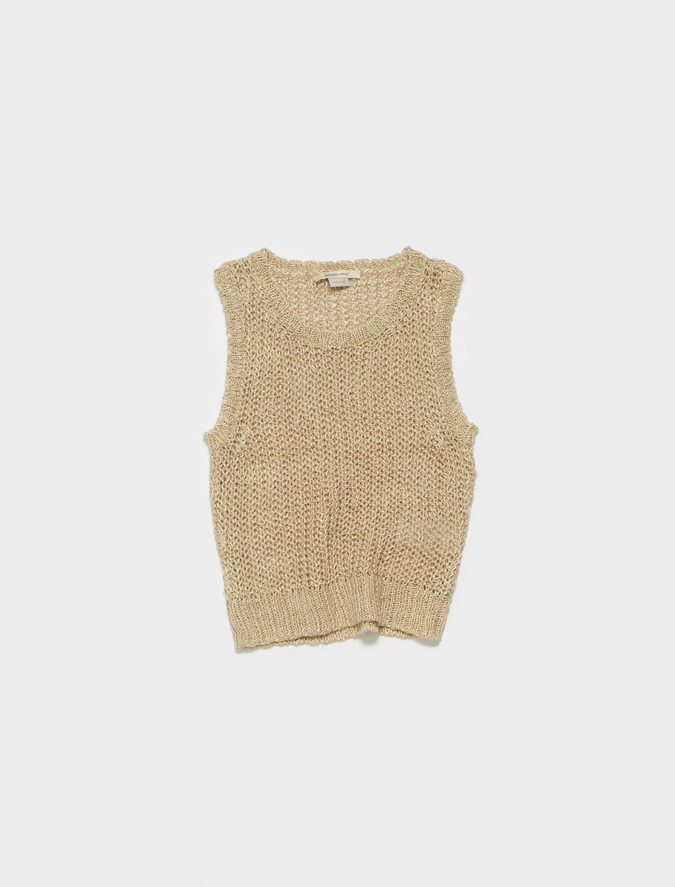 PKM029-147 PALOMA WOOL BULMA KNIT TANK TOP IN NATURAL