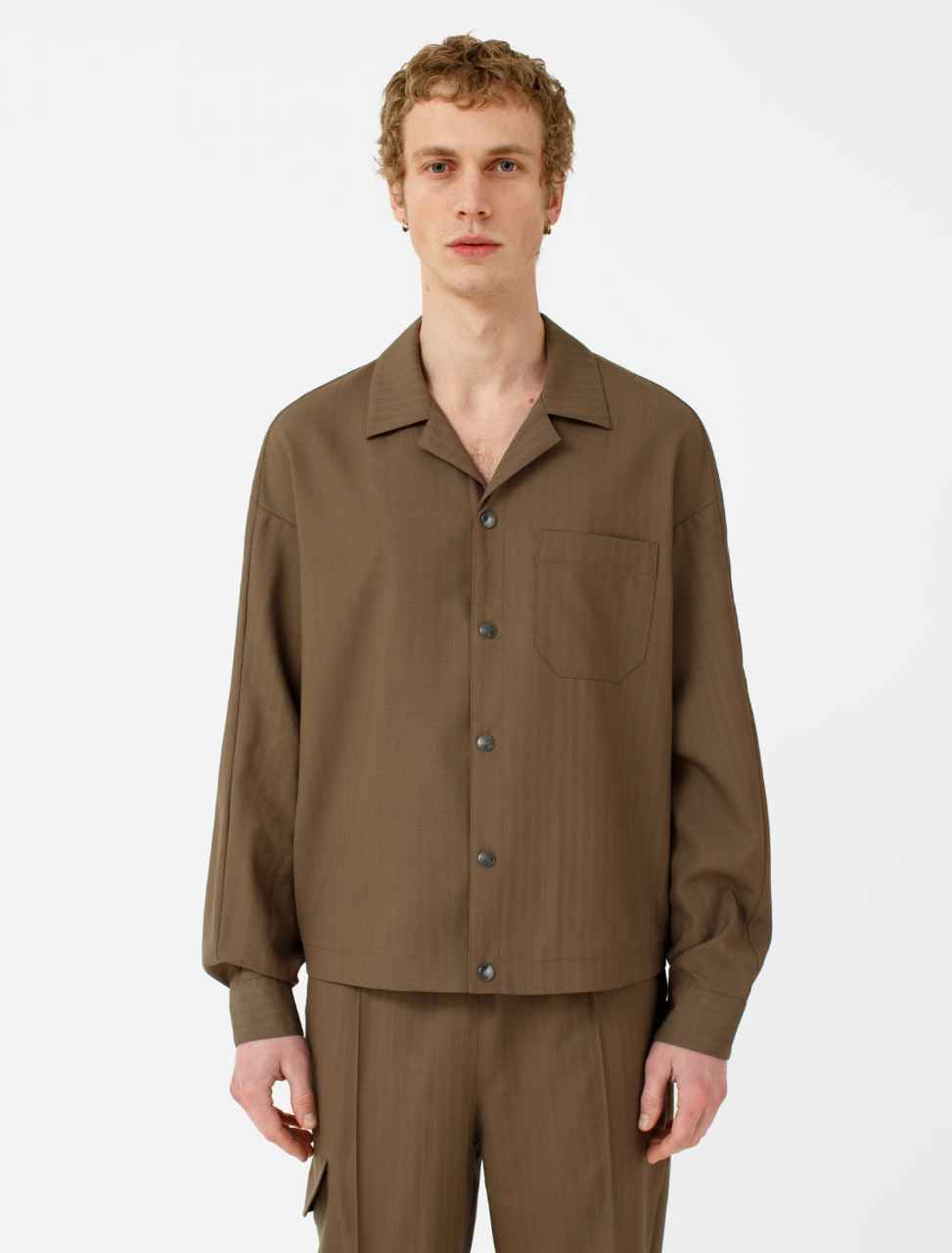 Billy Camp Collar Shirt Jacket