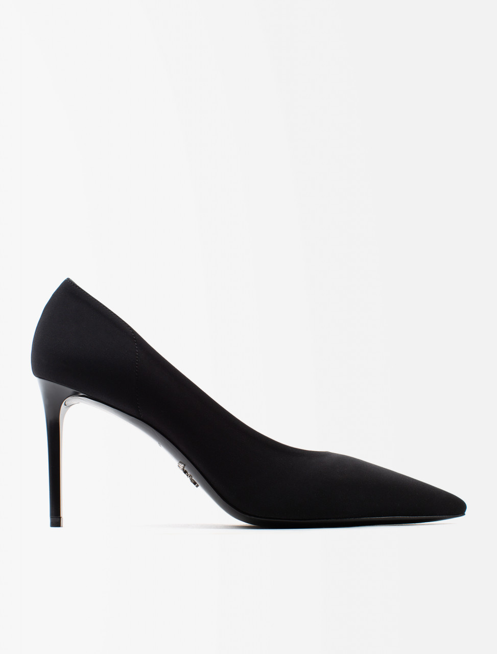 Black Fabric Pump