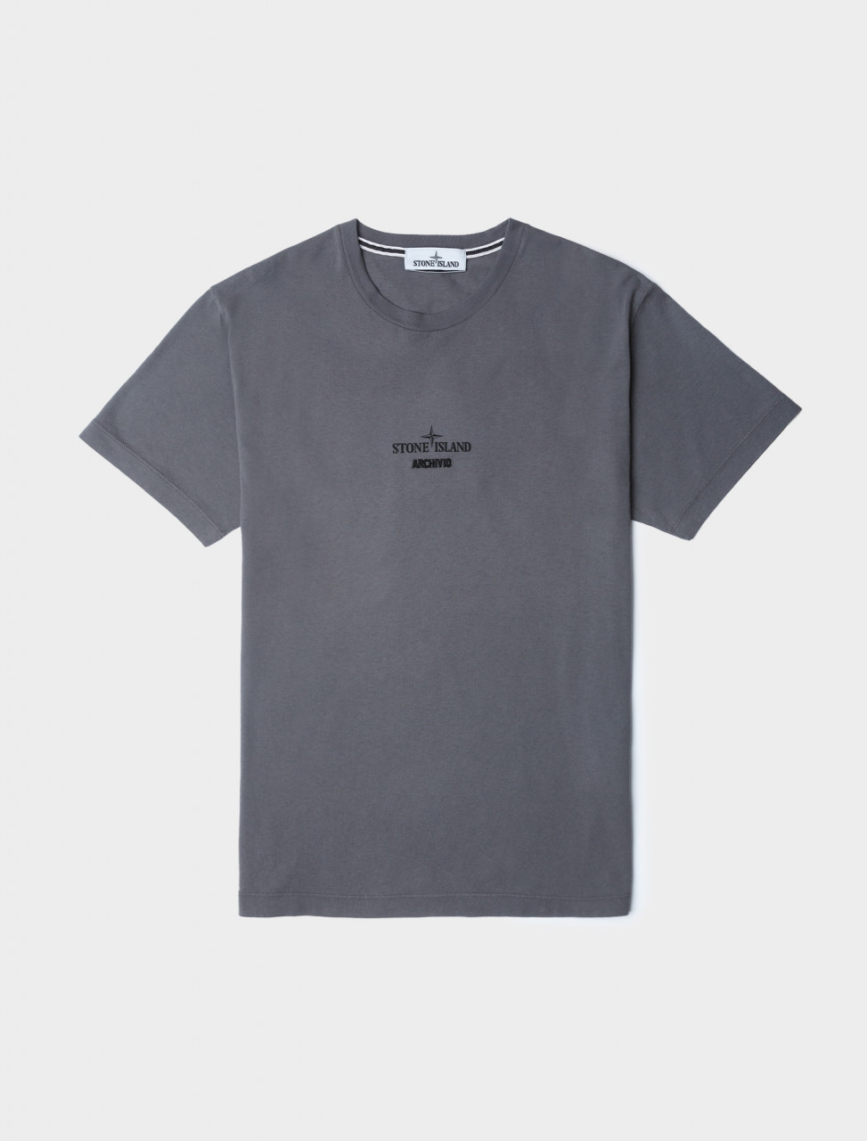 Archivio Short Sleeve T-Shirt in Pewter