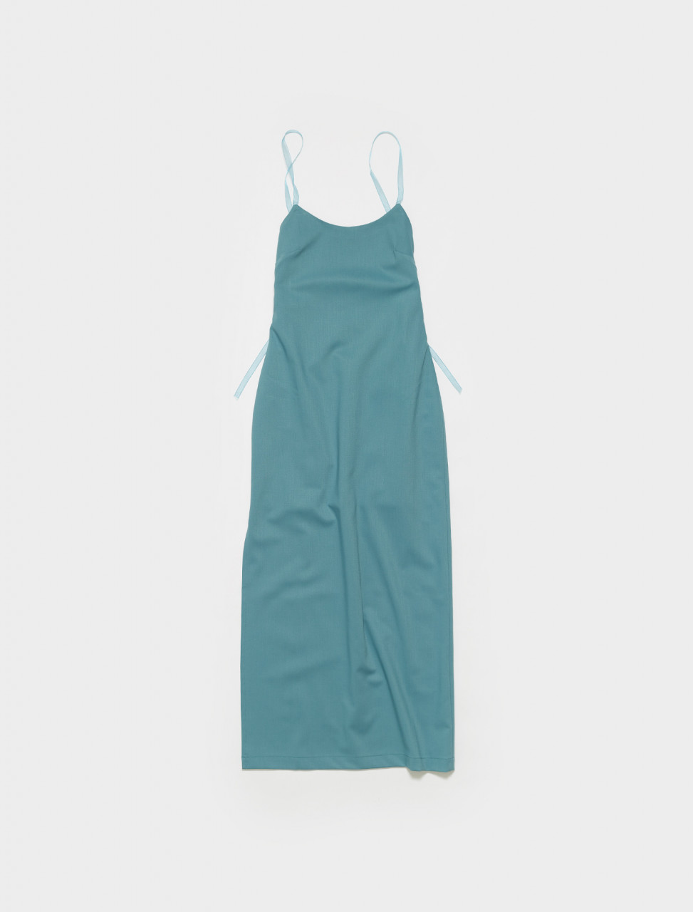 PWM016-121 PALOMA WOOL TERESA STRAPPY DRESS IN CYAN