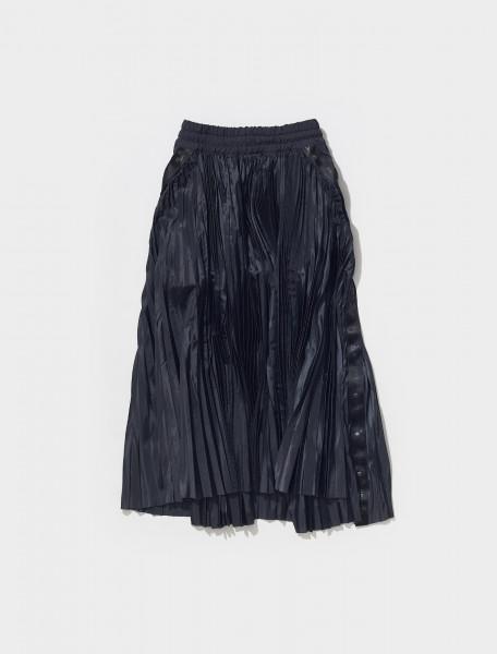 CV5713 010 NIKE X SACAI WOMEN'S PLEAT SKIRT IN BLACK