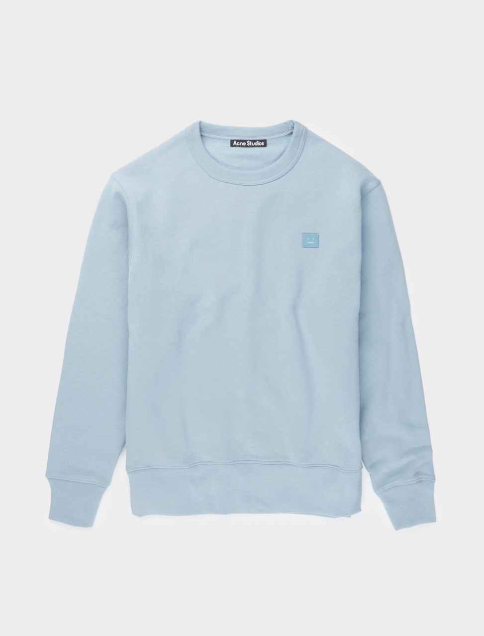 110-2HL173-AAO ACNE STUDIOS FAIRVIEW FACE MINERAL BLUE
