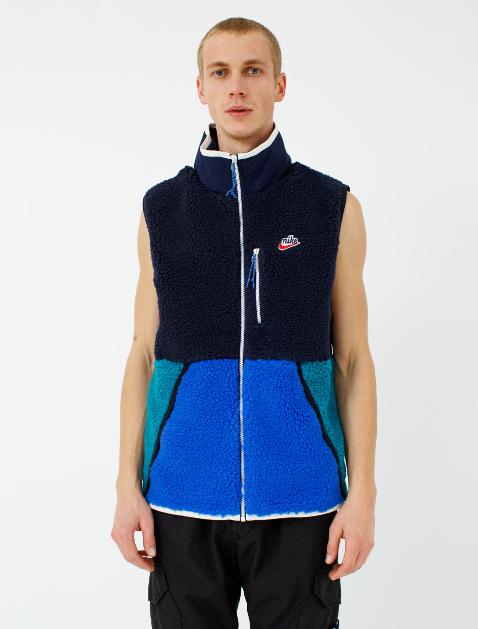 Zip Up Fleece Vest