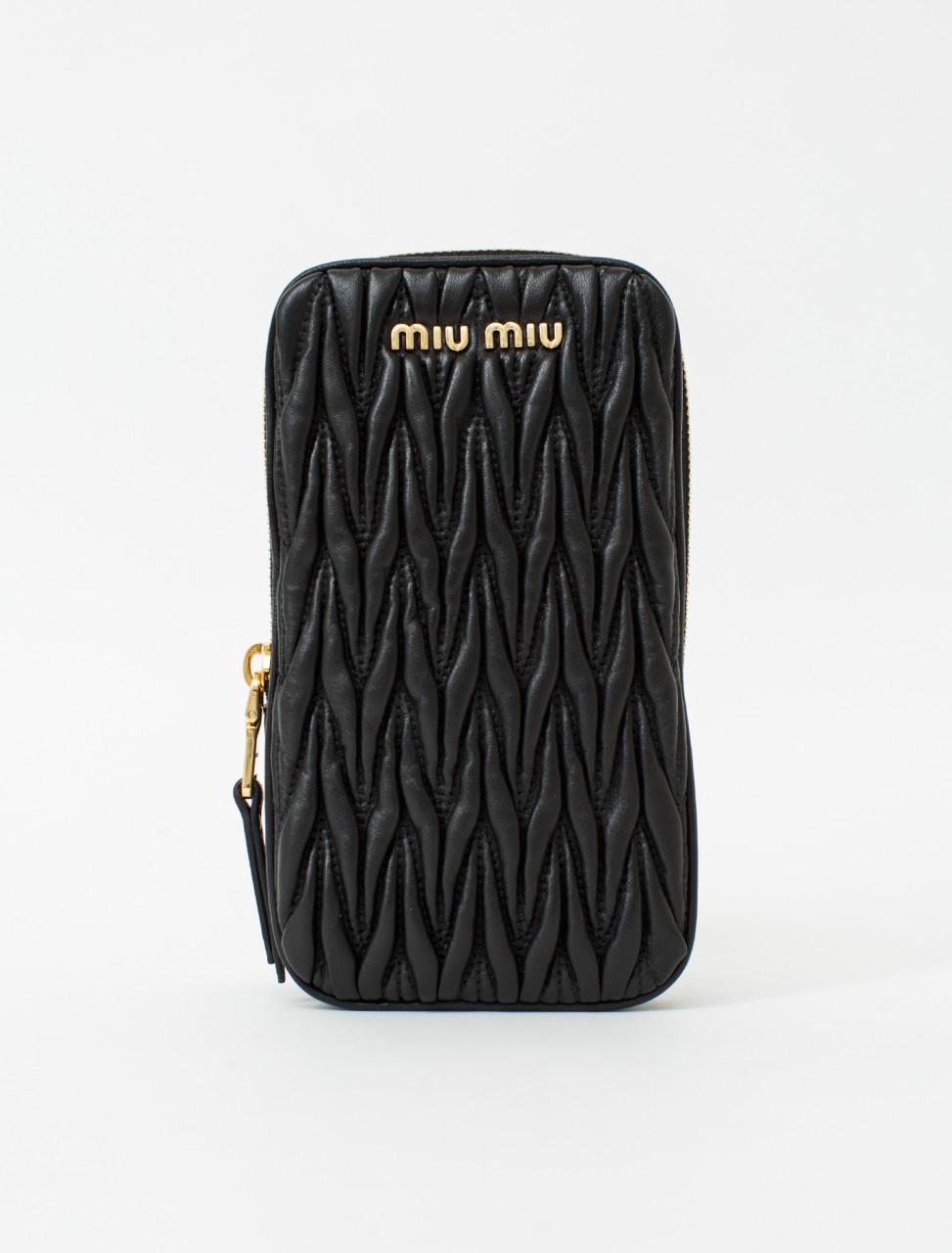 Matelassé Leather Mini-Bag